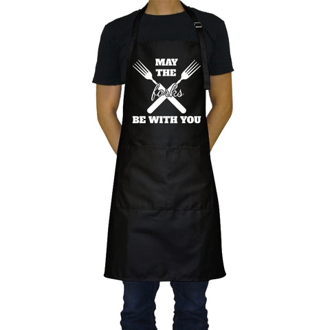 May the Forks Be with You - Funny Aprons