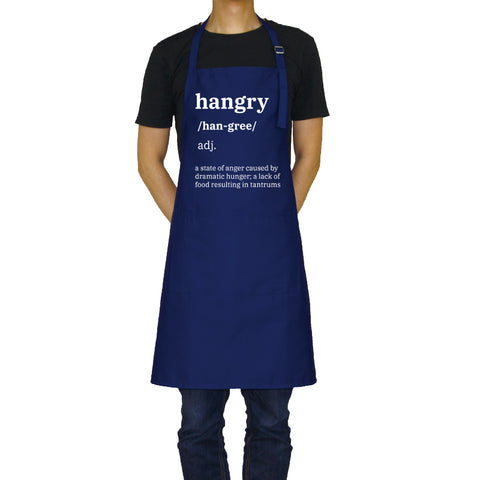 Hangry - Funny Aprons