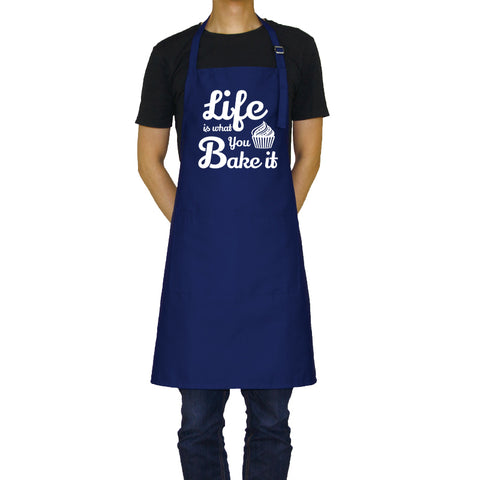 Life is What You Bake It - Funny Aprons