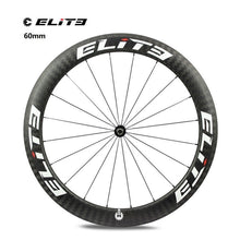 Load image into Gallery viewer, Elite DT Swiss 350s Road Bike Carbon 25mm or 27mm 700c Wheelset with Free Gift