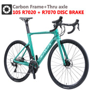 SAVA Carbon Road Bike With Shimano R7070 Hydraulic Brake