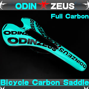 odinzeus newest carbon fiber MTB bicycle saddle carbon saddle seat cushion ultralight road/mountain Fold Bike Front Seat