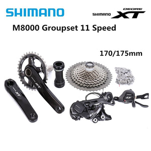 Shimano Deore XT M8000 11 speed 170mm 30T 32T 34T Drivetrain bike bicycle mtb Group set Groupset 1x11s