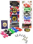 100 poker chips set