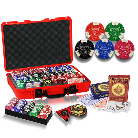 Billium Poker Chips Set 600