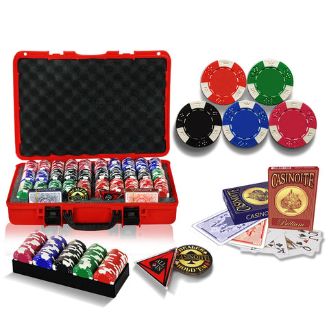 600 poker chips set