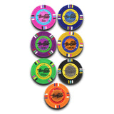 poker chips with denomination