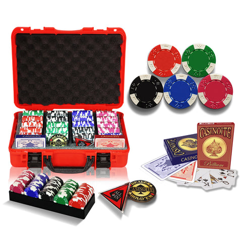poker chips set without denomination