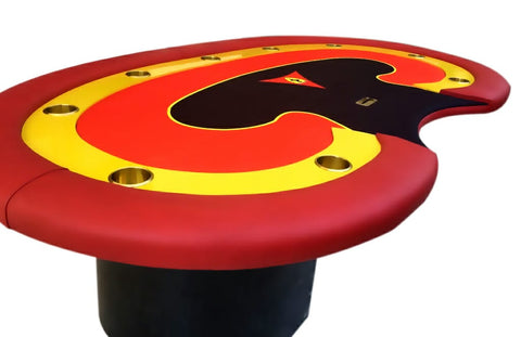 sporty poker table