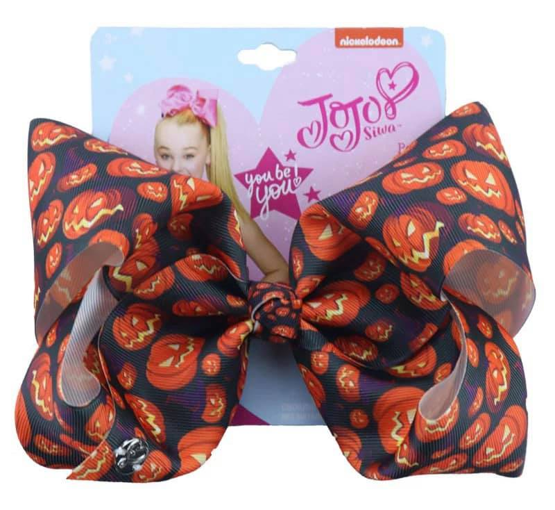 "8"" Hairbows Halloween Pumpkins"