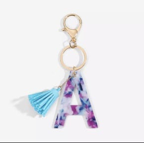 Alphabet Key Chain