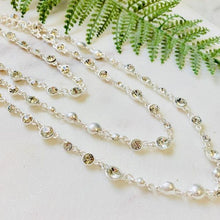 Load image into Gallery viewer, Three Tier Crystal Necklace