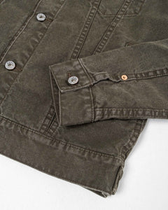 03-150 Washed Duck Canvas Type 3 Jacket - Meadow of Malmö