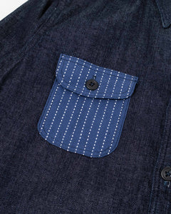 05-281 Multi Pocket Denim GTB Shirt - Meadow of Malmö