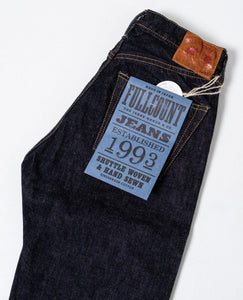 1108XXW Slim Straight Denim Washed 15.5 Oz - Meadow of Malmö