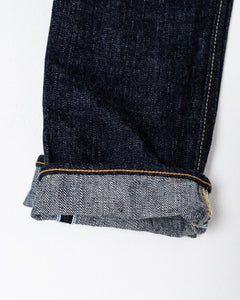 14 Oz Relaxed Tapered Wash Indigo XX-019 - Meadow of Malmö