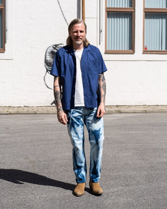 90's Standard Denim 105 Indigo Tie Dye - Meadow of Malmö