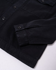 Colin Utility Overshirt Black