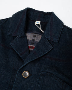 Denim x Stripe Double Faced Tailored Jacket