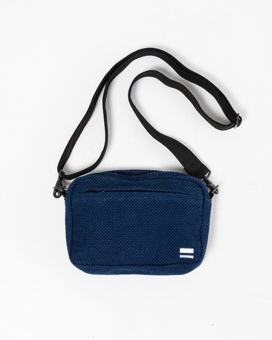B-17 Sashiko Shoulder Pouch - Meadow of Malmö