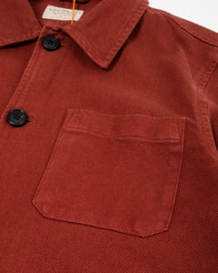 Barney Worker Jacket Brick Red - Meadow of Malmö