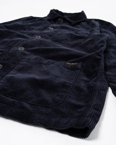 Barney Worker Jacket Cord Navy - Meadow of Malmö