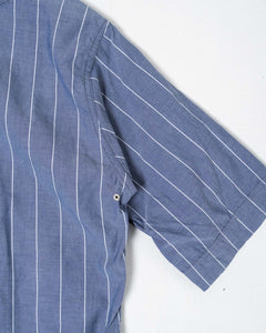 Baseball Shirt 3qs Blue Stripe - Meadow of Malmö