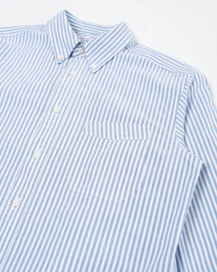 B.D Regular Shirt Blue Stripe Oxford - Meadow of Malmö
