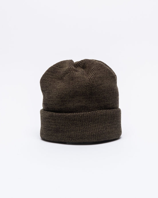 Bulky Watch Cap Olive/Charcoal - Meadow of Malmö