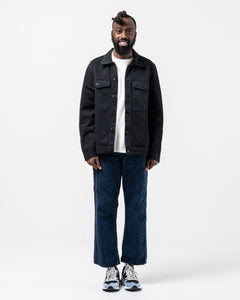 Colin Utility Overshirt Black - Meadow