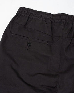 Comfort Wide Easy Trousers Black - Meadow of Malmö
