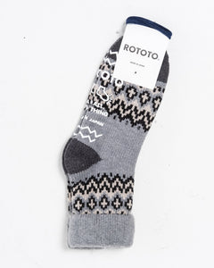 Comfy Room Socks Nordic Grey - Meadow of Malmö