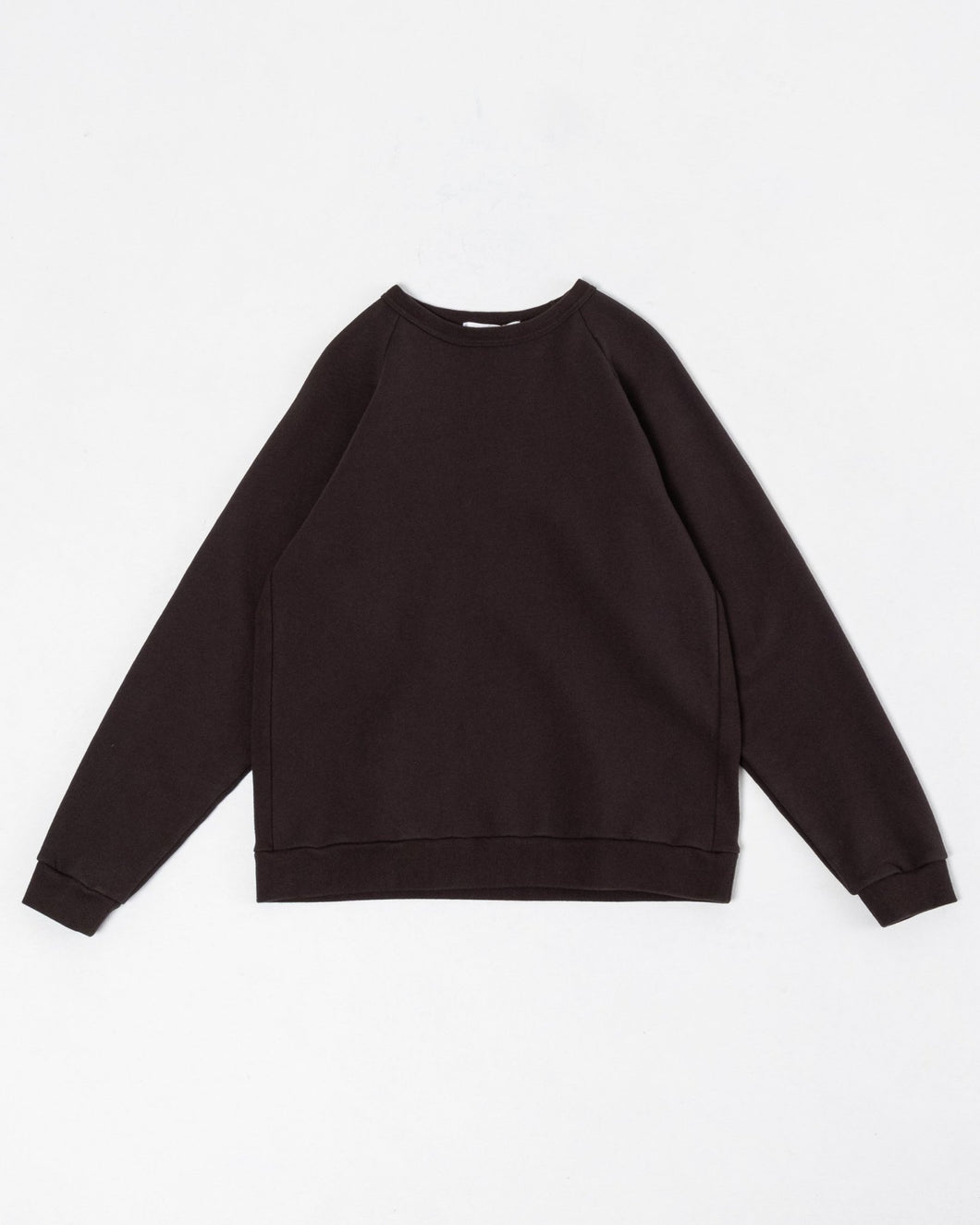 Crew Neck Sweat Charcoal - Meadow