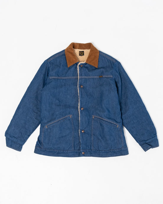 Denim Sherpa Jacket - Meadow of Malmö