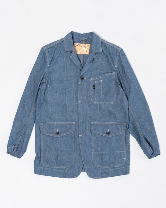 Engineer Jacket Chambray - Meadow