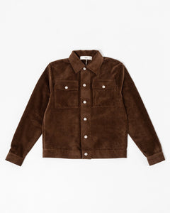Eric Jean Jacket Chocolate Brown - Meadow of Malmö