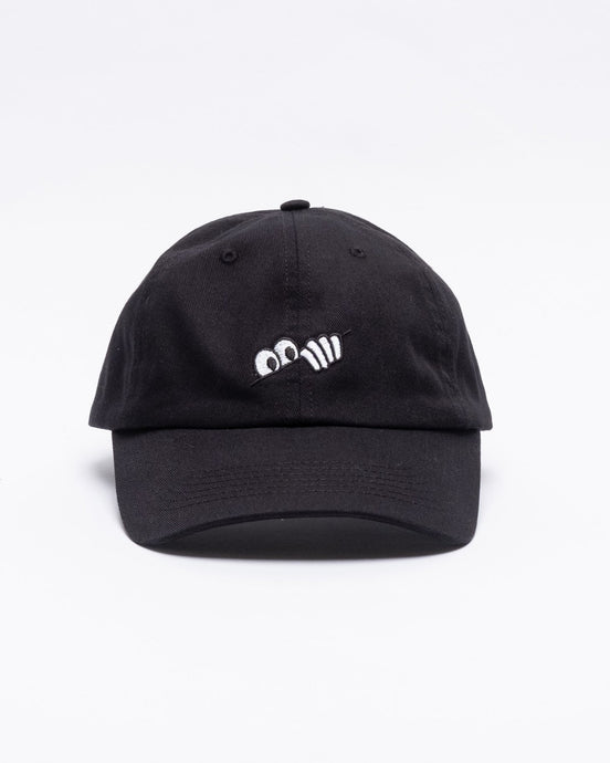 Eyes 6-Panel Black - Meadow