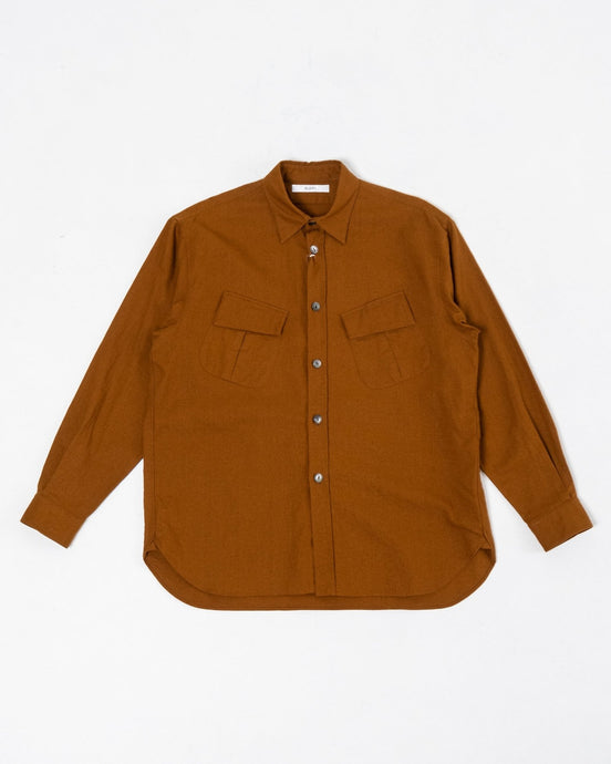 Fatigue Shirt Nut Brown - Meadow