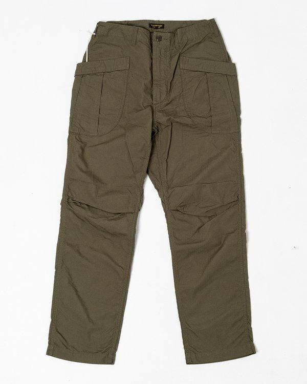 Fatigue Trousers Ripstop Olive - Meadow of Malmö
