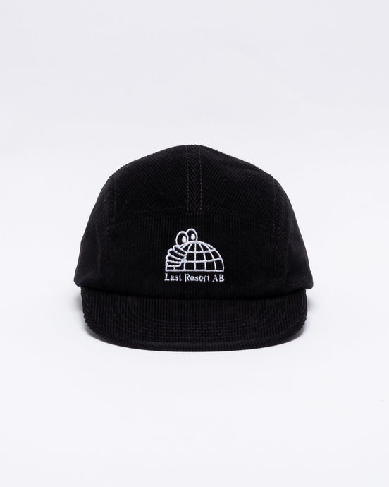 Half Globe Cord 5-Panel Black - Meadow