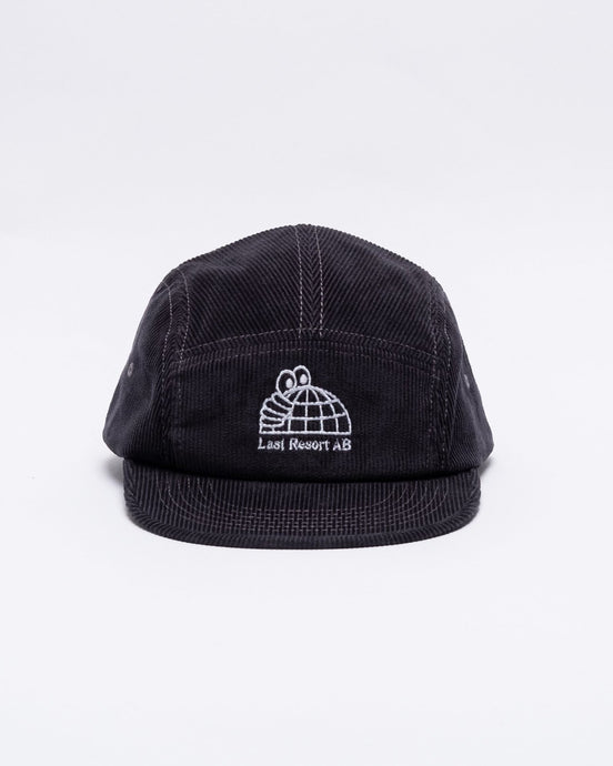 Half Globe Cord 5-Panel Grey - Meadow