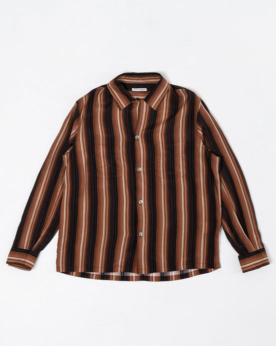 Heusen Shirt Sofa Stripe - Meadow