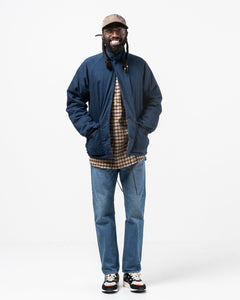 Insulated Coach Jacket Indigo Ripstop - Meadow of Malmö