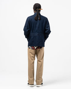 Jungle Fatigue Jacket Indigo Blue - Meadow of Malmö