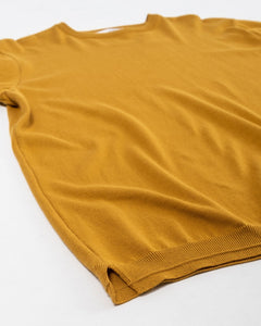 Knit T-Shirt Mustard - Meadow