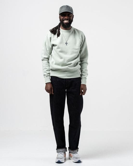 Laniakea Crew Neck Sweat Sage - Meadow