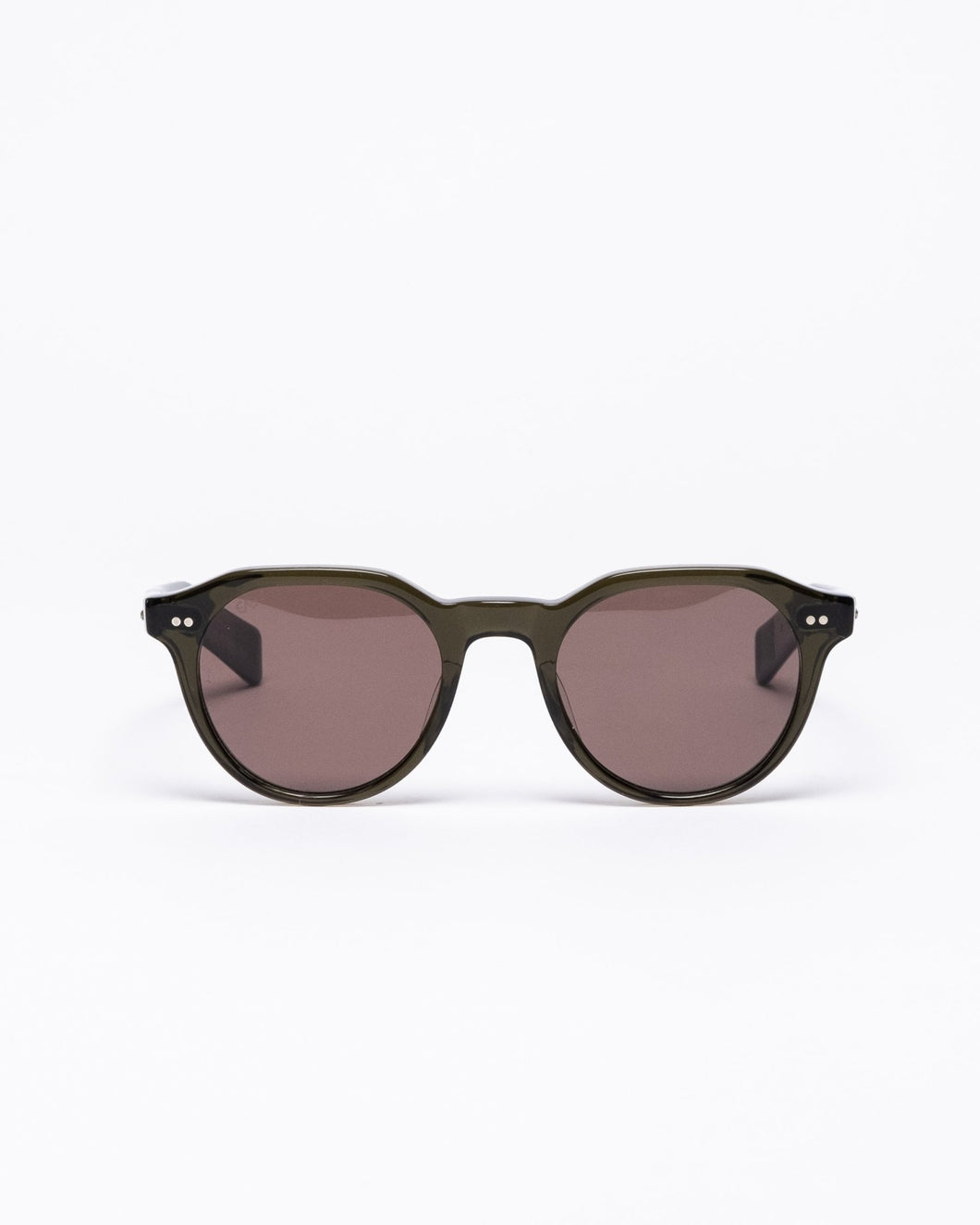 Lubin Sunglasses 48 Olive Drab/Brown - Meadow of Malmö