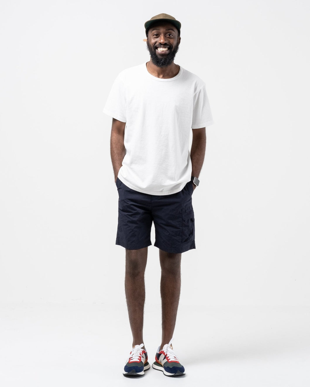 Luther Packable Short Dark Navy - Meadow
