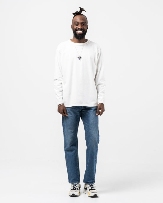 Makaha Long Sleeve T-Shirt Off White - Meadow of Malmö