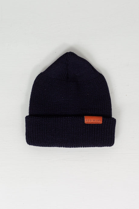 Merino Wool Beanie Navy - Meadow of Malmö
